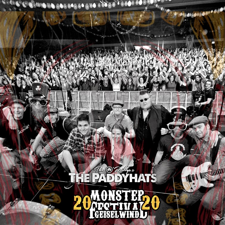 The O'Reillys & The Paddyhats_Monster Festival 2020_Eventzentrum Strohofer Geiselwind