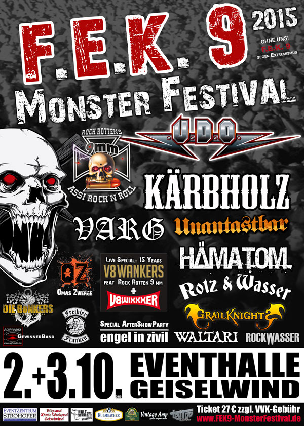 2015 Monster Festival FEK 9