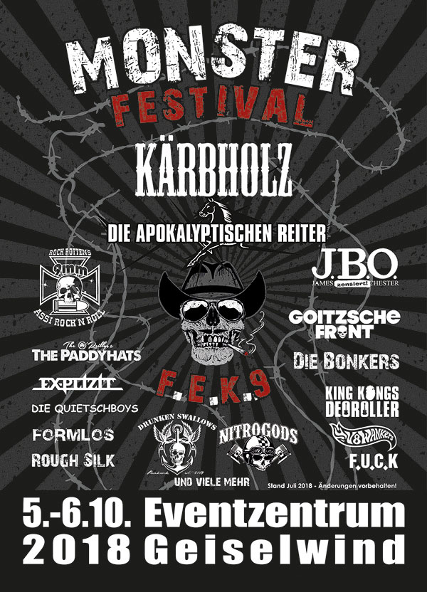 2018 Monster Festival FEK 9